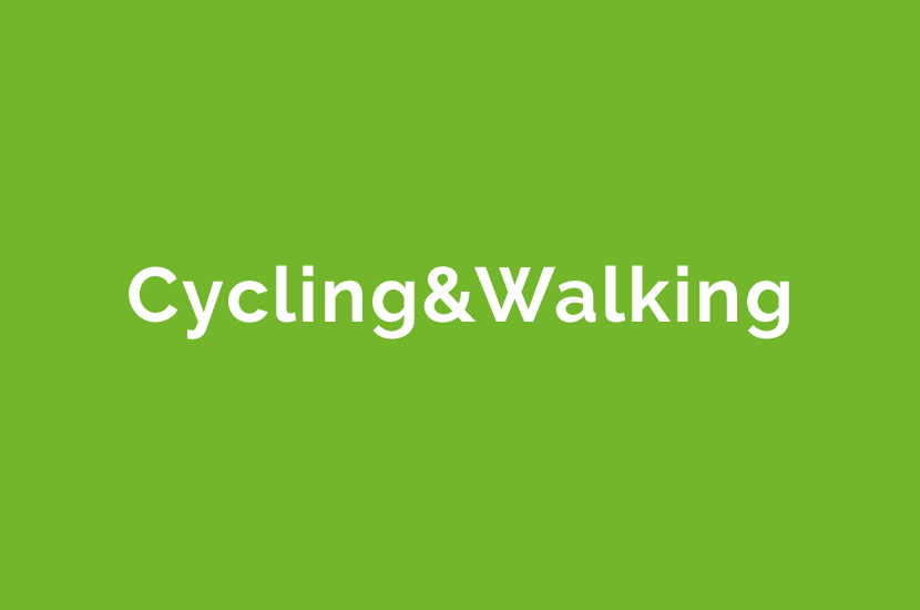 cycling&walking